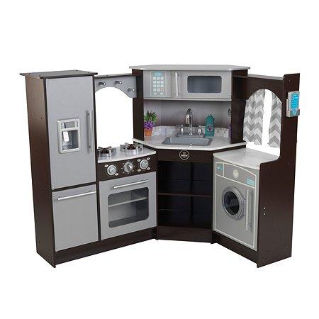 Кухня игровая KidKraft Эспрессо угловавая большая интерактивная 53365_KE