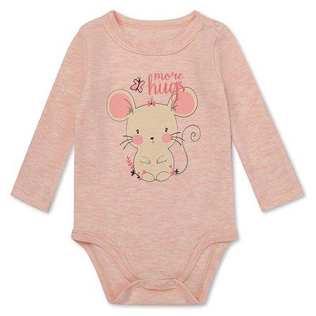 Боди BabyGo розовое