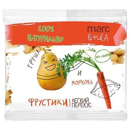 Снек Marc&Фиса Фрустики груша-морковь 15г с 1года