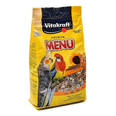 Корм для попугаев Vitakraft Menu средних 1кг 10621