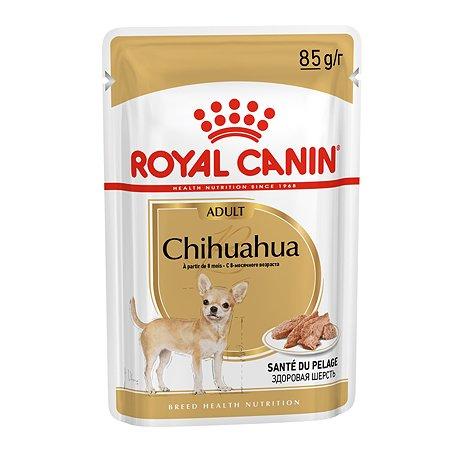 Корм для собак ROYAL CANIN породы чихуахуа консервированный 85г