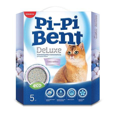 Наполнитель для кошек Pi-Pi-Bent комкующийся 5кг 83282