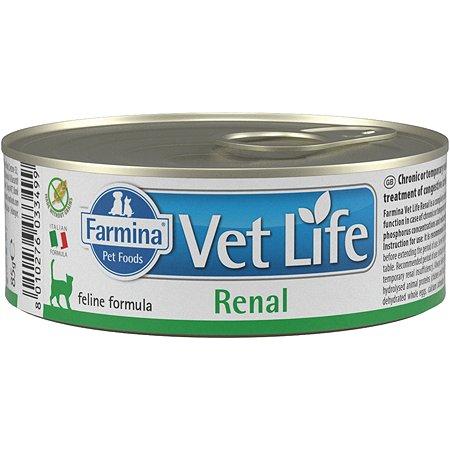 Корм сухой для кошек Farmina Vet Life ренал 85г