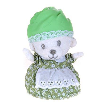 Игрушка Cupсake Bears Медвежонок в капкейке Лололи Мятный цвет