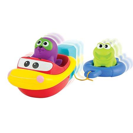 Набор для ванны ABC Лодка с морским котиком и лягушонком 007116