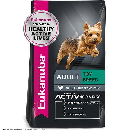 Корм для собак Eukanuba Dog взрослых миниатюрных пород сухой 1.5кг