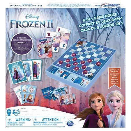Игра настольная Spin Master Холодное сердце 6в1 6053753