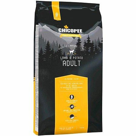 Корм для собак Chicopee HNL ягненок-картофель 12кг