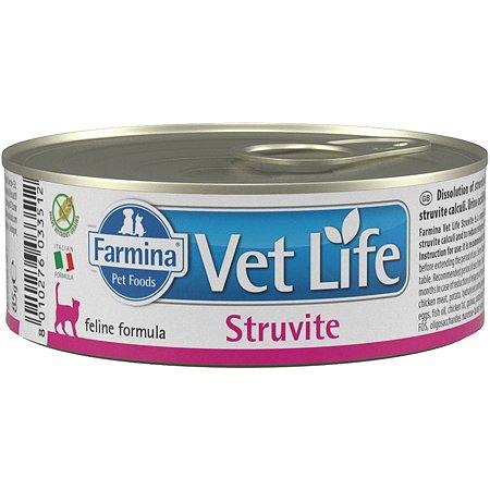 Корм сухой для кошек Farmina Vet Life струвит 85г