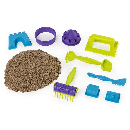 Песок кинетический Kinetic Sand Веселая пляжная игра 6037424