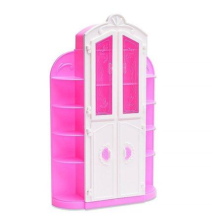 Мебель для кукол Огонек Сервант Розовый С-1391