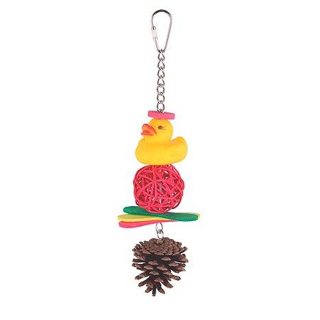 Игрушка для птиц Sky Duck and Pine 4966/SK