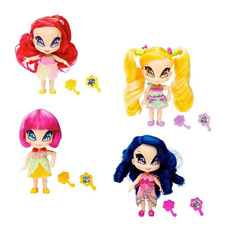 Кукла Bandai Pop Pixie 12 см с аксессуарами в ассортименте