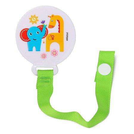 Держатель для пустышки Baby Go Fisher Price Green BD-12077