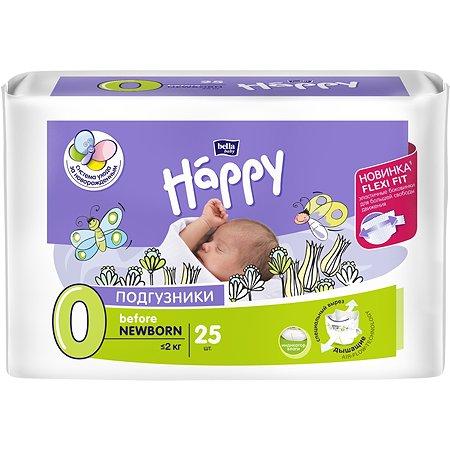 Подгузники Bella baby Happy baby Happy до 2 кг 25 шт
