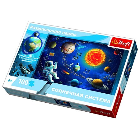 Пазл Trefl Солнечная система 100элементов 15529