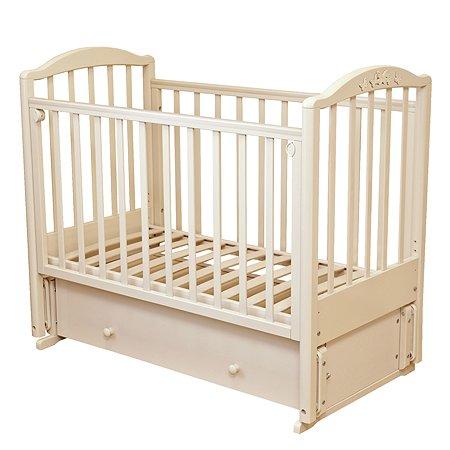 Кровать детская Красная Звезда (Можга) Регина слоновая кость