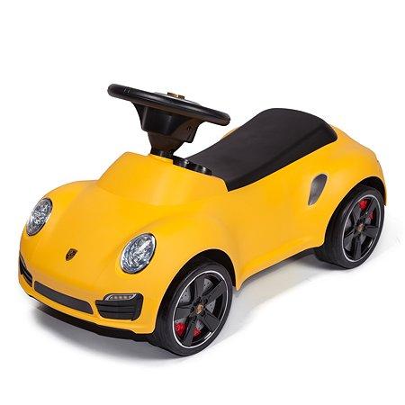 Каталка Rastar Porsche 911 Жёлтая 83400