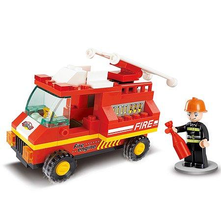 Конструктор SLUBAN Городская серия FIRE ENGINE