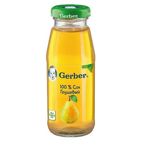 Сок Gerber груша 0.175л
