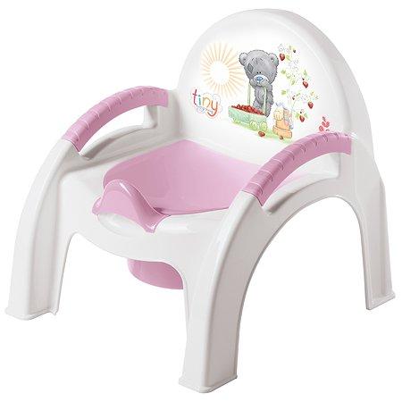 Горшок-стульчик Пластишка Розовый