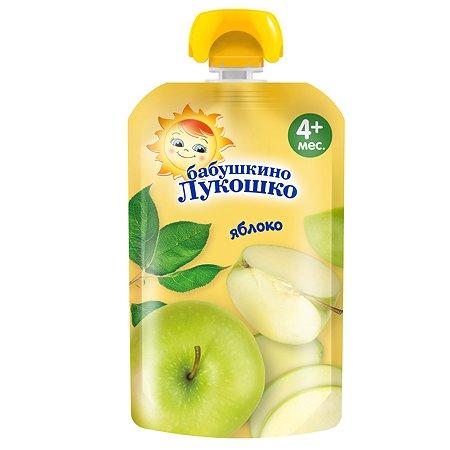Пюре Бабушкино лукошко яблоко пауч 90 г