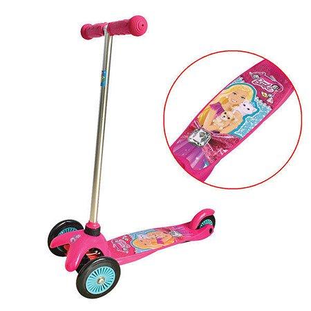 Самокат 1TOY Barbie упр.наклоном