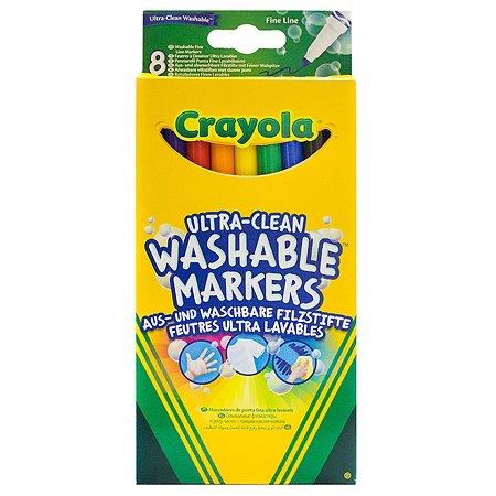 Фломастеры смываемые Crayola 8 шт
