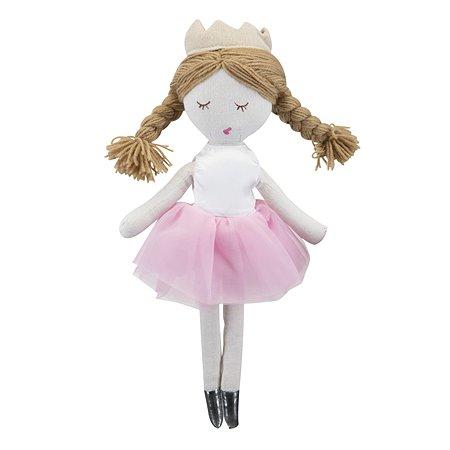 Кукла текстильная Мир Детства Принцесса 40см