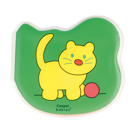 Книжка Canpol Babies мягкая с пищалкой Кошка