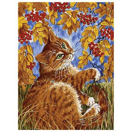 Набор для рисования Белоснежка Кот с рябиной (118-AS)