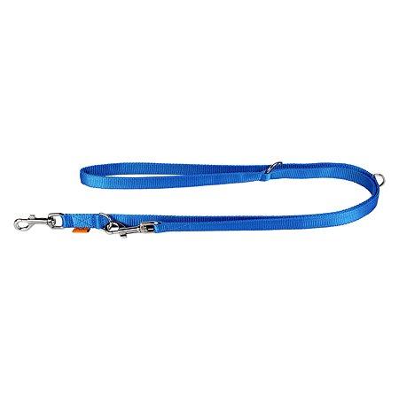 Поводок-перестежка для собак Dog Extreme двойной Синий 43292