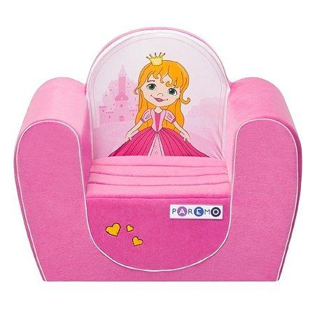 Кресло PAREMO Принцесса Розовое PCR316