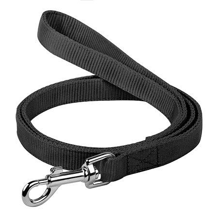 Поводок для собак Dog Extreme двойной Чёрный 42981