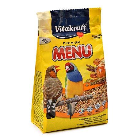 Корм для экзотических птиц Vitakraft Menu 500г 18112