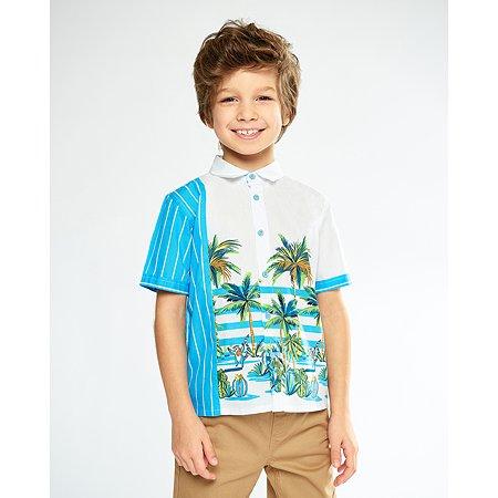 Рубашка Futurino Fashion цветная