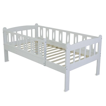 Кровать подростковая Babyton Соня 1 Белый