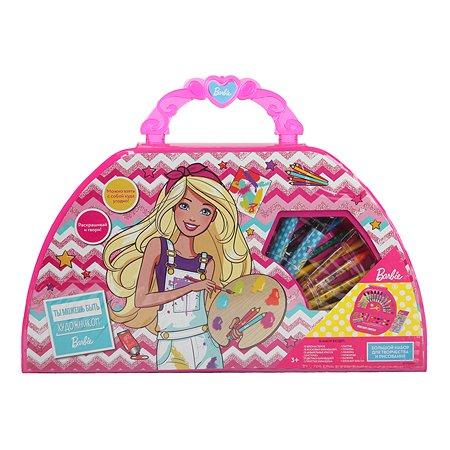 Набор для рисования Erhaft Barbie 50предметов DM0010