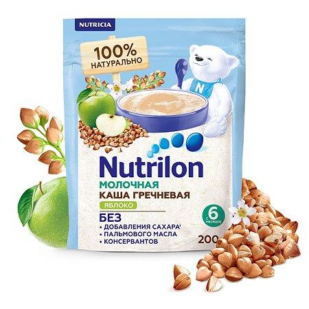 Каша молочная Nutrilon гречневая яблоко 200г с 6месяцев