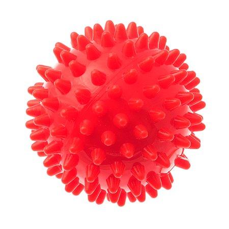 Игрушка для собак MyPet массажный мяч диаметр 6 см красный MyPet
