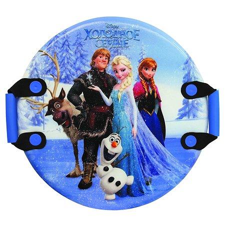 Ледянка 1TOY Disney Холодное сердце круглая с ручками Т57259