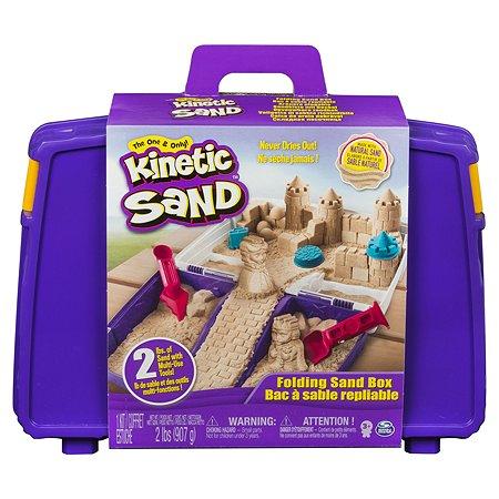 Песок кинетический Kinetic Sand с лотком-песочницей 6037447