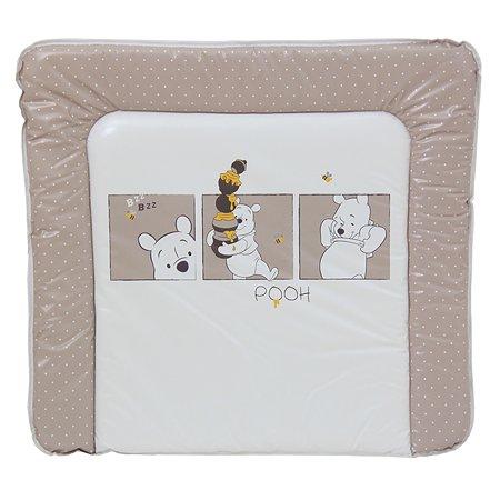Доска пеленальная Polini kids Disney Baby Медвежонок Винни Белый-Макиато 0001563-7
