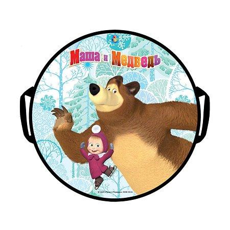 Ледянка 1TOY Маша и Медведь 52 см круглая T59046