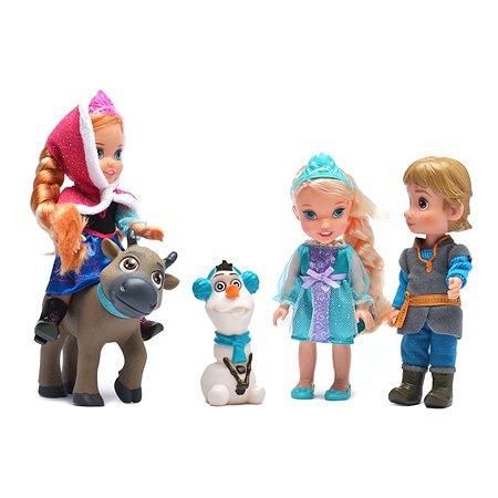 Набор Disney Холодное Сердце Принцессы (5 героев)
