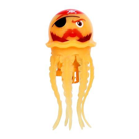 Радужная медуза Море чудес Желтая