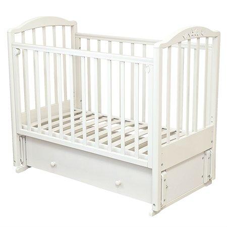 Кровать детская Красная Звезда (Можга) Регина белый