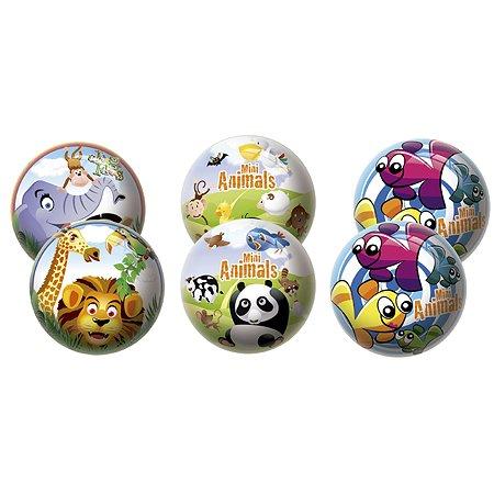 Мяч Unice Животный мир 23 см в ассортименте