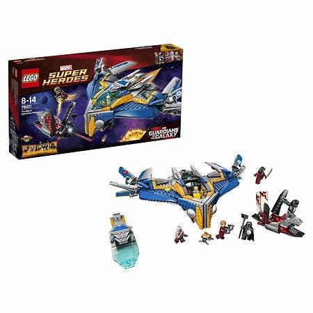 Конструктор LEGO Super Heroes Спасение космического корабля «Милано» (76021)