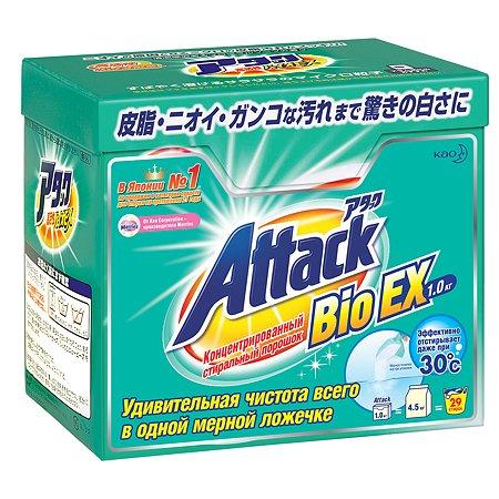 Концентрированный универсальный порошок Attack BioEX 1 кг